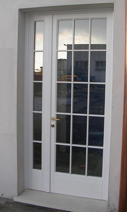 Portafinestra in abete lamellare modello barocco padova - Porta finestra in inglese ...