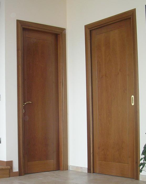 Porte interne in legno - PAN SERRAMENTI Di Pan Damiano E Diego ...