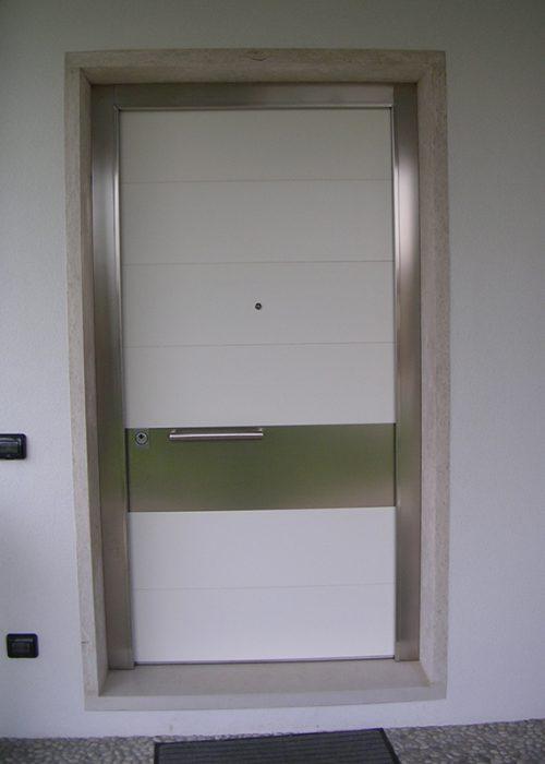 Portoncino modello belgrado padova realizzazione porte finestre portoncini d 39 ingresso e - Costo finestre alluminio ...