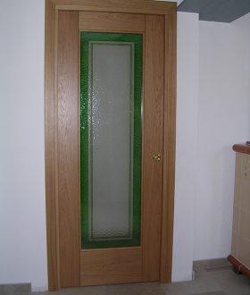 Porte vetro e legno