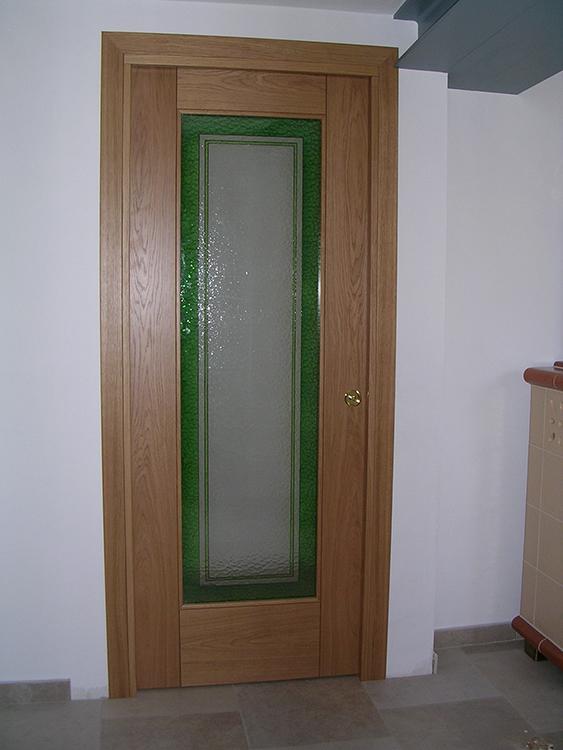 Porte vetro e legno padova realizzazione porte finestre - Porte ingresso vetro ...