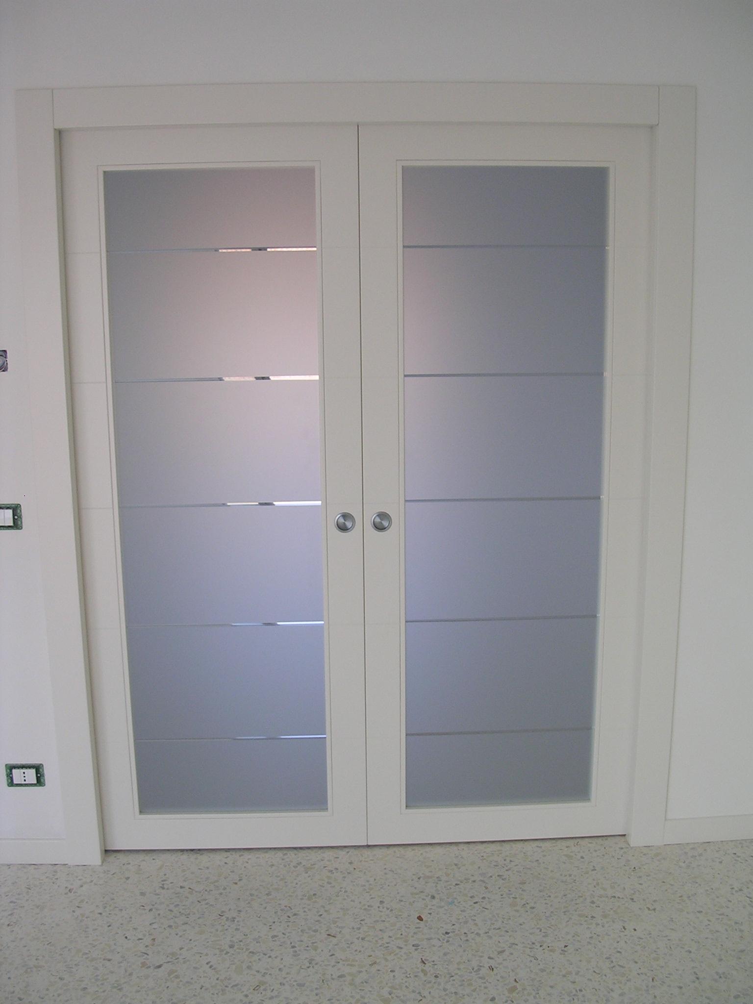 Porta scorrevole legno e vetro oo08 regardsdefemmes - Porte scorrevoli a vetri ...