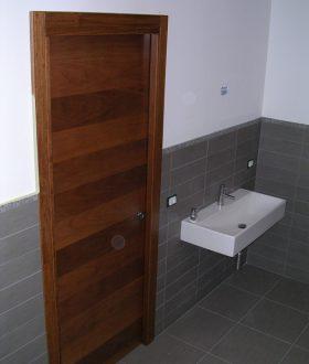 Porta in legno – Modello R varie essenze