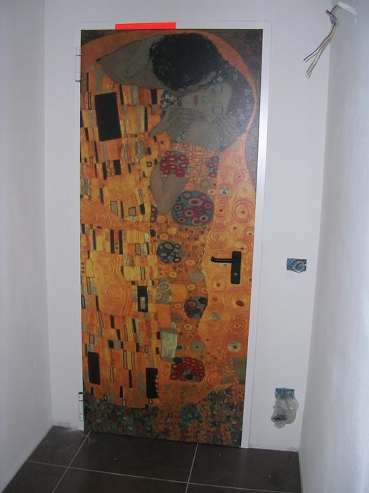 Porta tagliafuoco rei 60 decorata padova realizzazione for Porta rei
