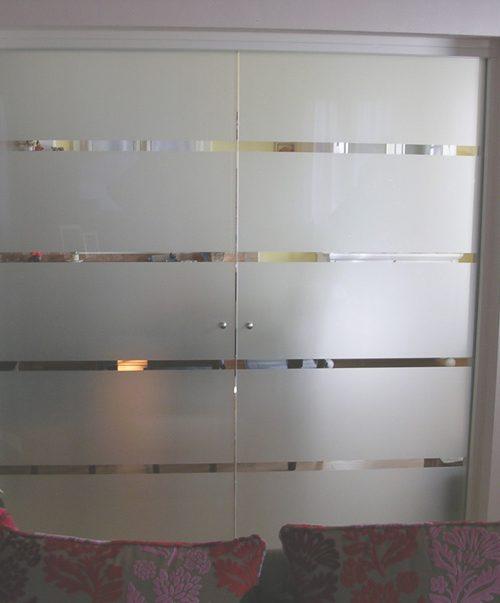 Porte Tutto Vetro Scorrevoli.Porta Tuttovetro Scorrevole Doppia Padova Realizzazione Porte