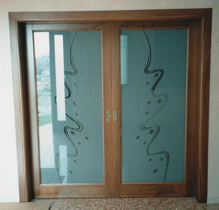 Nice porte con vetri colorati lk42 pineglen - Vetri colorati per finestre ...