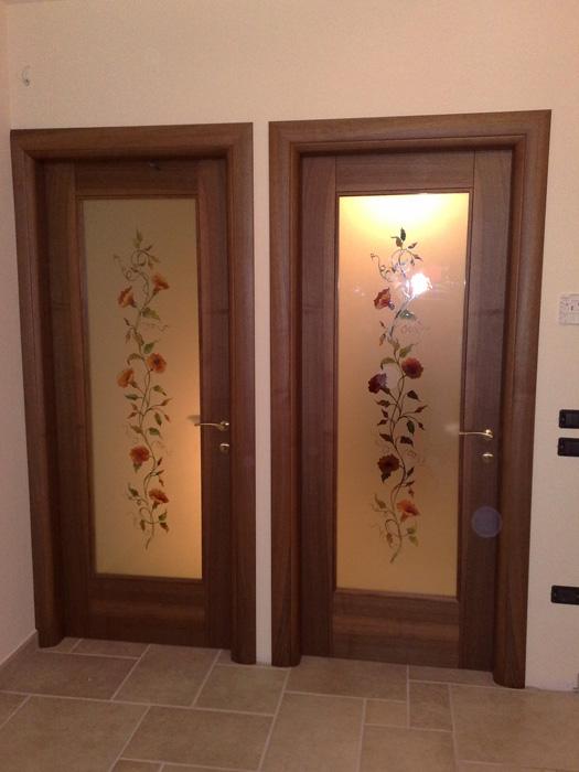 Porte vetro e legno padova realizzazione porte finestre for Porte e porte