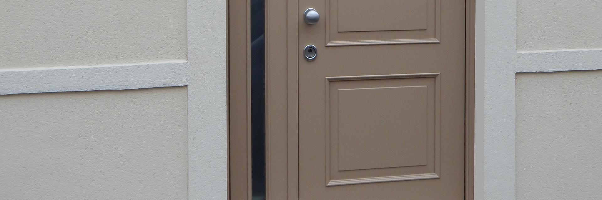 Realizzazione porte blindate padova porte finestre - Montaggio paraspifferi porta blindata ...