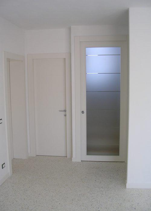 Porte interne laccate con casse alla trentina Padova ...
