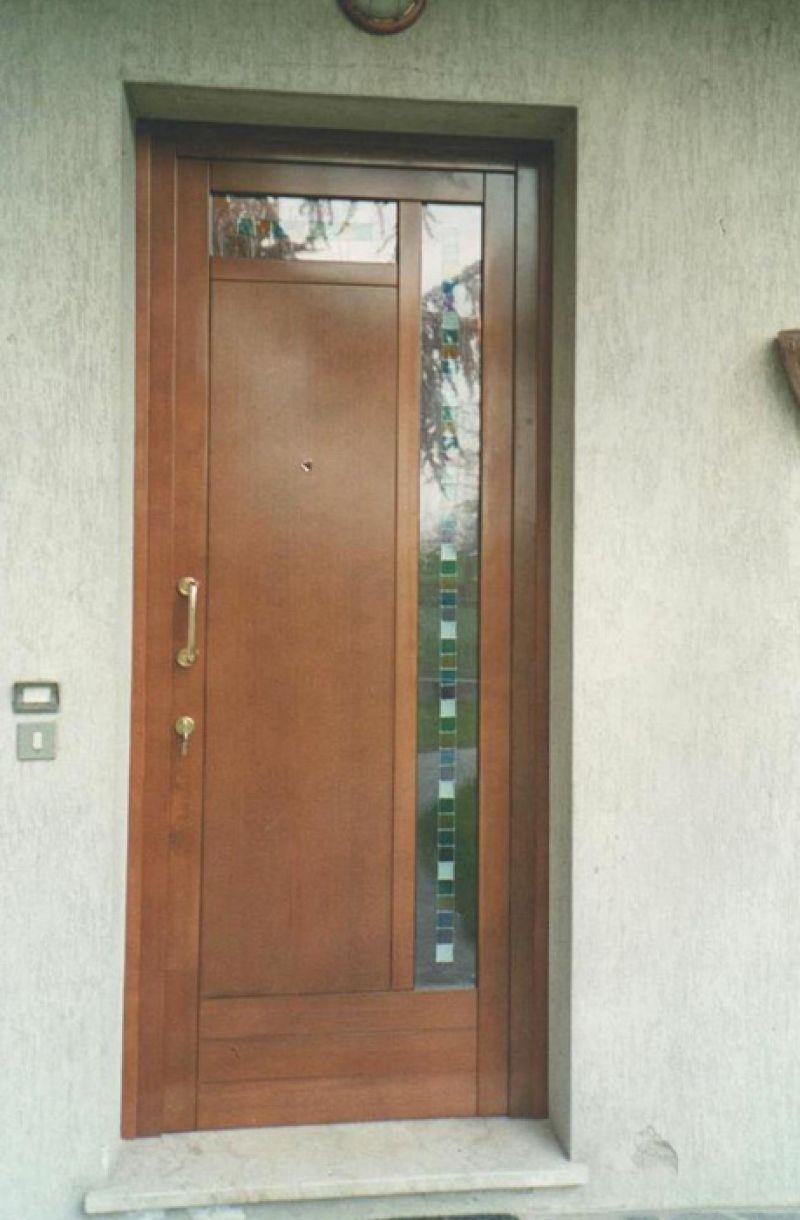 Portoncino d'ingresso - Modello Londra Padova - Realizzazione porte, finestre, portoncini d ...