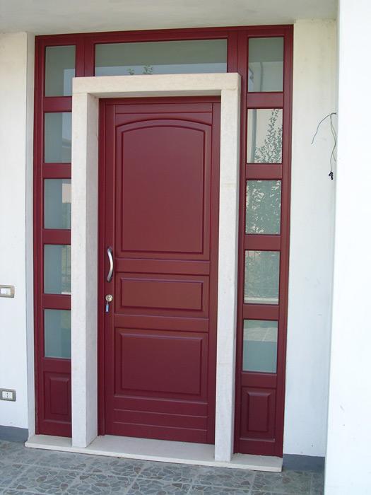 Portoncino d 39 ingresso modello madrid padova - Porte ingresso vetro ...