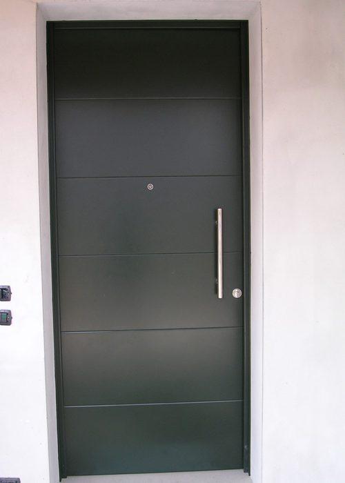 Portoncino e porta blindata modello monaco padova - Porta ingresso blindata ...