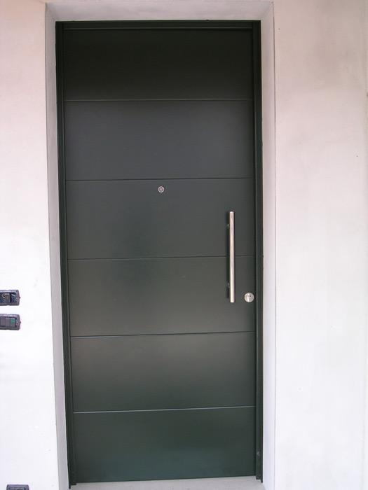 Portoncino e porta blindata - Modello Monaco Padova - Realizzazione porte, finestre, portoncini ...
