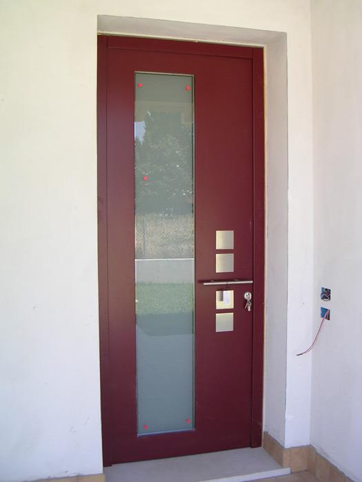 Portoncino d'ingresso blindato - Modello Bengasi Padova - Realizzazione porte, finestre ...