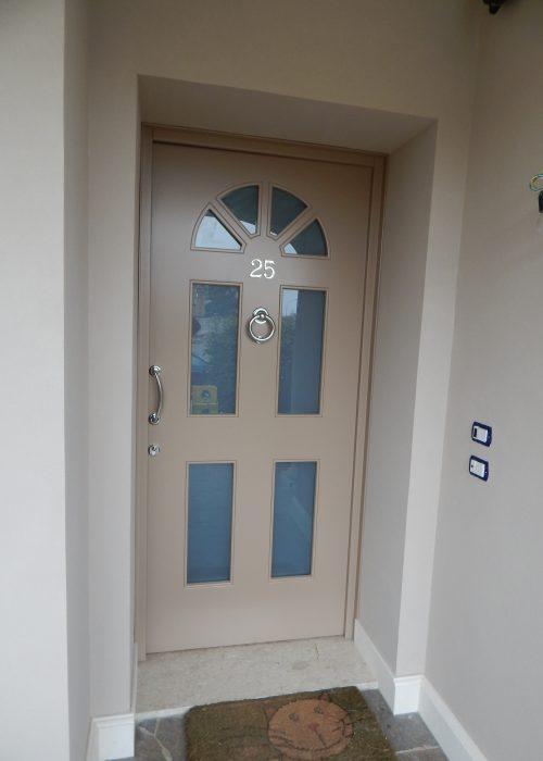 Portoncino ingresso modello siena padova realizzazione - Porta finestra in inglese ...
