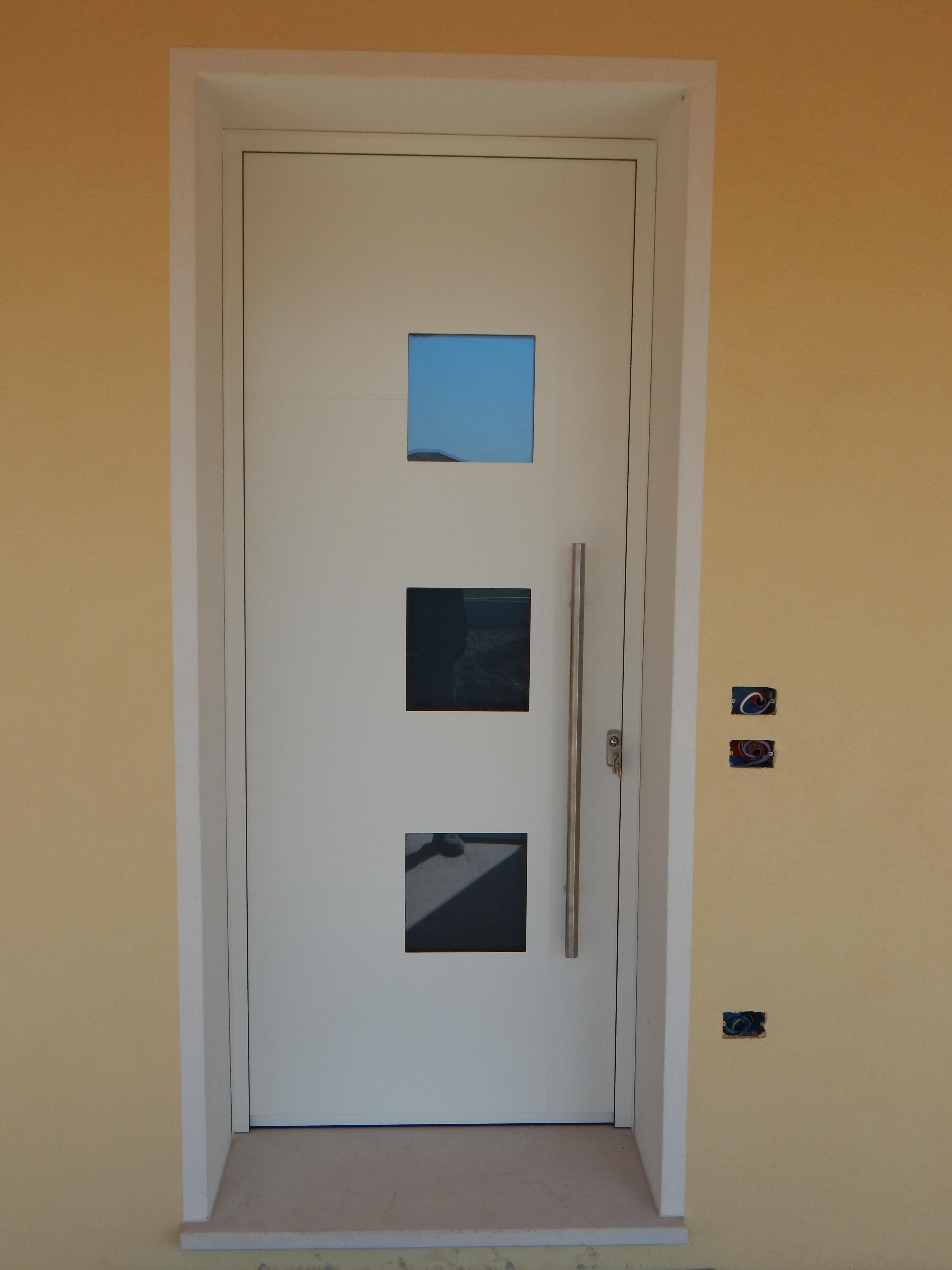 Portoncino ingresso uni one modello atene padova for Porte d ingresso