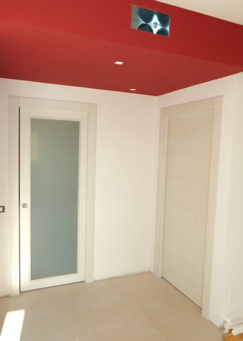Porta in frassino country con vetro satinato padova realizzazione porte finestre portoncini - Finestre in frassino ...