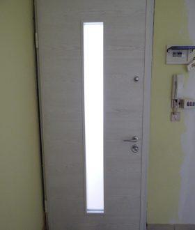 Blindato con vetro centrale