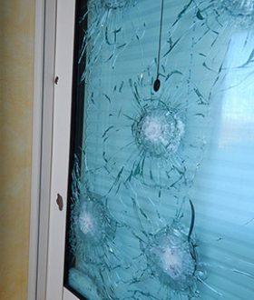 Finestra in vetro antiproiettile Top Scudo