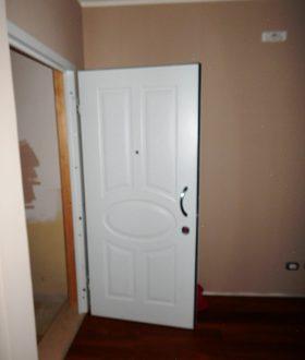 Porta blindata pantografata