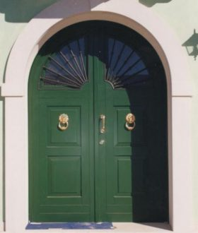 Portoncino d'ingresso – Modello Malta