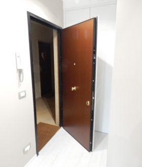 porta blindata bicolore